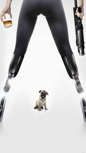 Kingsman Poster Dog Art Film iPhone 8 wallpaper