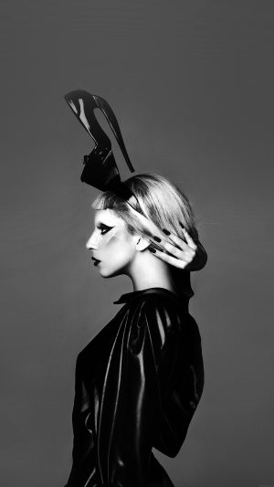 Lady Gaga Dark Mariano Vivanco Photo Music iPhone 8 wallpaper