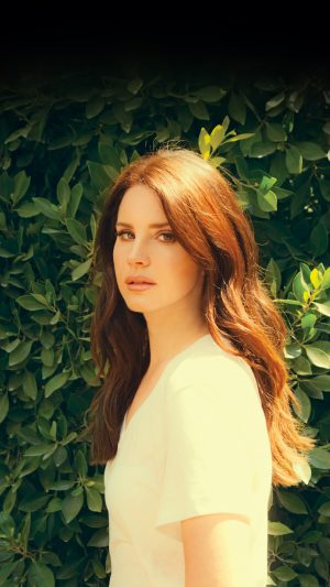 Lana Del Rey Music Singer Celebrity iPhone 8 wallpaper