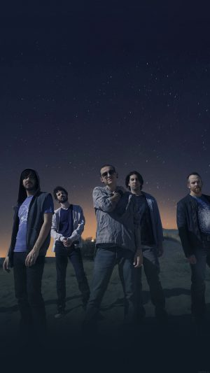 Linkin Park Space Music Stars Celebrity iPhone 8 wallpaper