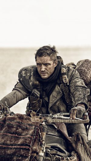Mad Max Fury Road Max Tom Hardy Film iPhone 8 wallpaper