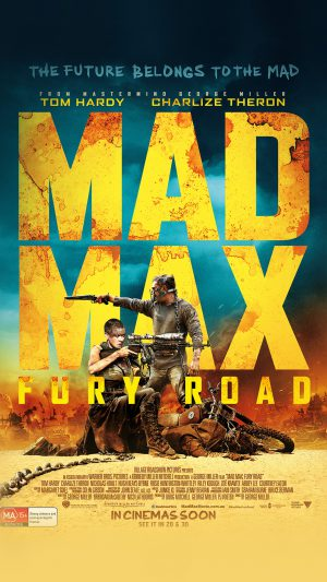 Madmax Furyroad Film Poster Art iPhone 8 wallpaper
