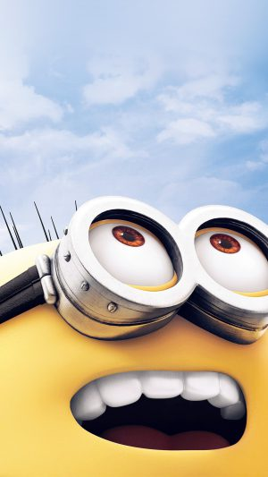 Minion Art Cute Illustration Film iPhone 8 wallpaper