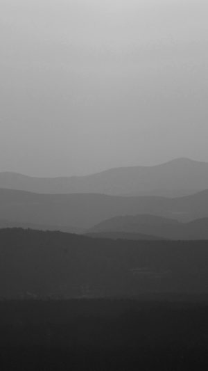 Mountain Silhouette Dark Bw Morning Nature iPhone 8 wallpaper
