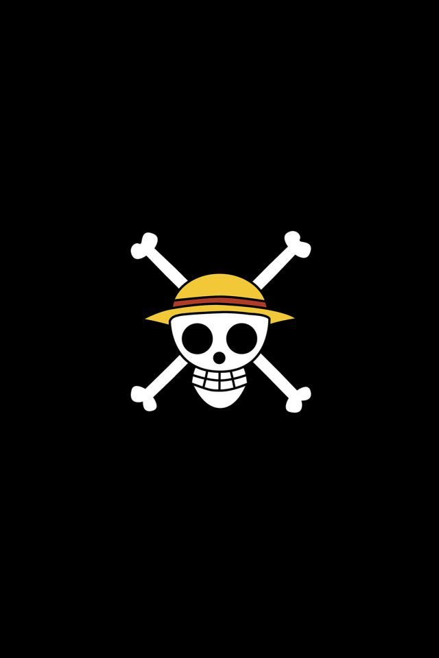 One Piece Logo Art Iphone 8 Wallpaper Iphone8wallpapers Com