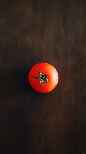 One Tomato Food Nature iPhone 8 wallpaper