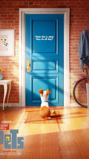 Pets Animation Cute Film Art Illustration iPhone 8 wallpaper