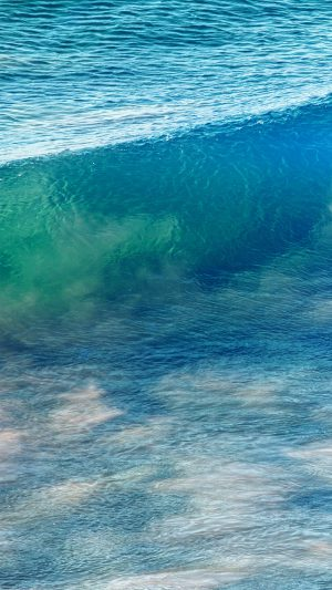 Sea Wave Nature Ocean Summer Fun Blue iPhone 8 wallpaper