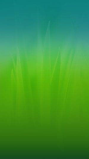 Soft Blue Nature Green Blue Leaf Pattern iPhone 8 wallpaper