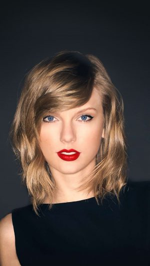 Taylor Swift Dark Lips Music Celebrity iPhone 8 wallpaper