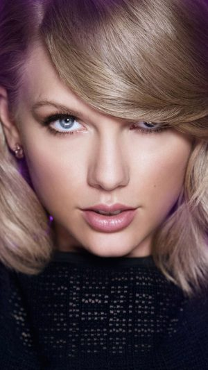 Taylor Swift Face Music Celebrity iPhone 8 wallpaper