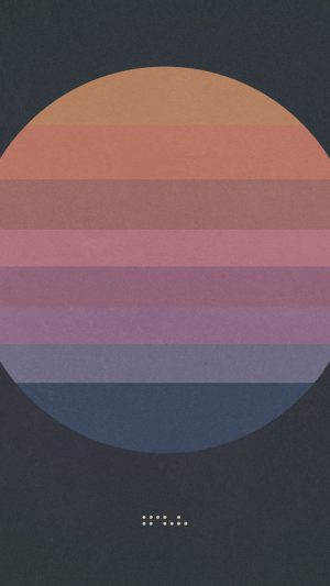 Tycho Art Music Album Cover Illust Simple iPhone 8 wallpaper