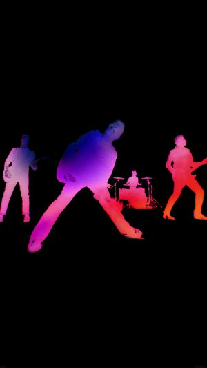 U2 Free Music iPhone 8 wallpaper