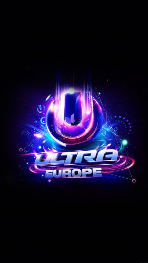 Ultra Europe Art Poster Music Party Concert iPhone 8 wallpaper