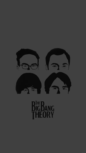 Wallpaper Bigbang Theory Guys Film Dark iPhone 8 wallpaper