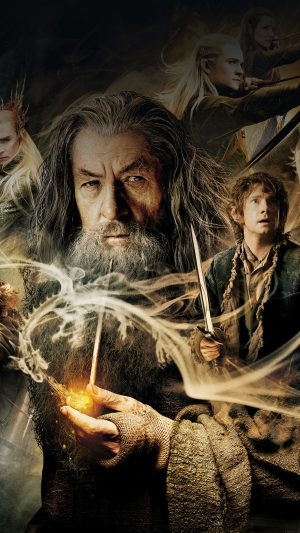 Wallpaper Desolation Of Smaug Hobbit Film Face iPhone 8 wallpaper