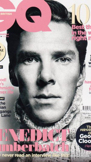 Wallpaper Gq Benedict Cumberbatch Face Film iPhone 8 wallpaper
