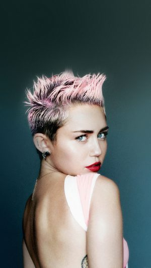 Wallpaper Miley Cyrus For V Face Music iPhone 8 wallpaper