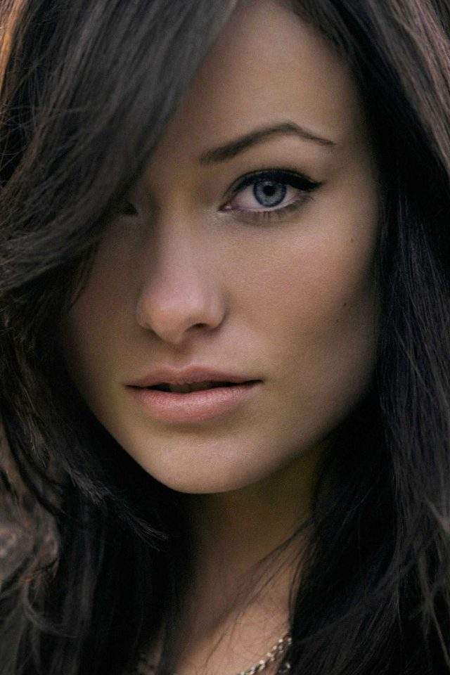 Wallpaper Olivia Wilde Stare Face Girl Film iPhone wallpaper
