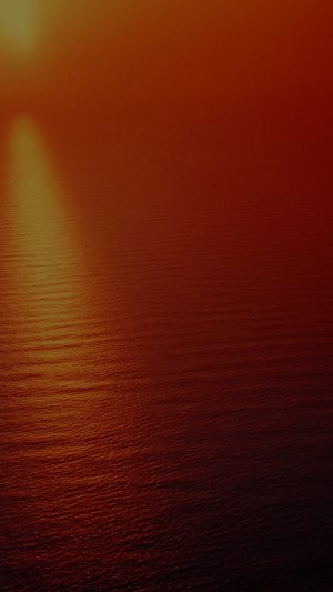 Water Ocean Red Sunset Nature Dark Texture Pattern iPhone 8 wallpaper