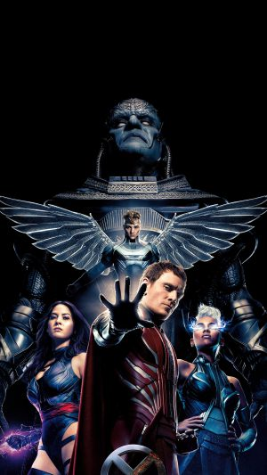 Xmen Apocalypse Poster Film Hero Destroy iPhone 8 wallpaper