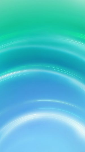 Circle Blue Green Abstract Light Pattern iPhone 8 wallpaper