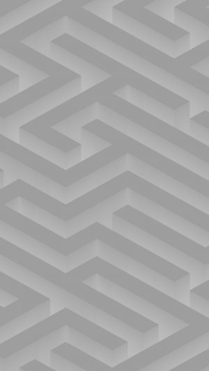 Maze Art White Abstract Patterns iPhone 8 wallpaper