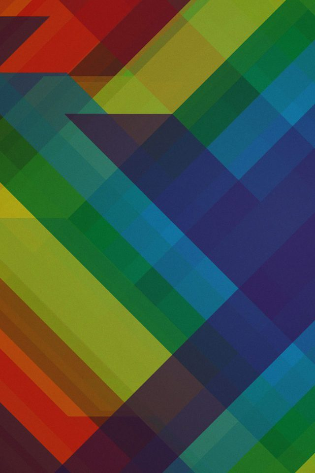 Multicolored Polygons Pattern Art Abstract iPhone wallpaper