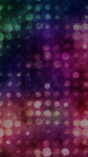 Party Light Vintage Bokeh Color Pattern iPhone 8 wallpaper