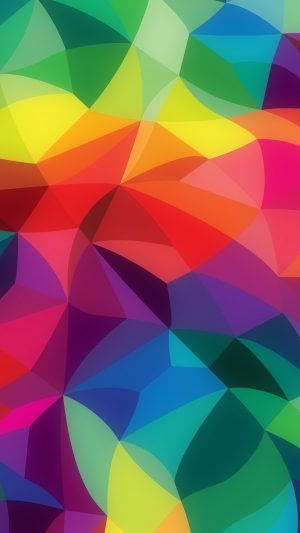 Rainbow Abstract Colors Pattern iPhone 8 wallpaper