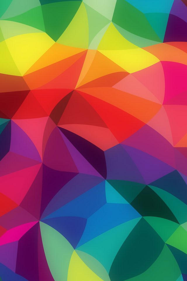 Rainbow Abstract Colors Pattern iPhone wallpaper