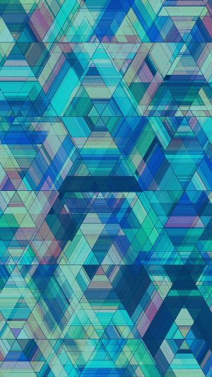 Space Blue Abstract Cimon Cpage Pattern Art iPhone 8 wallpaper