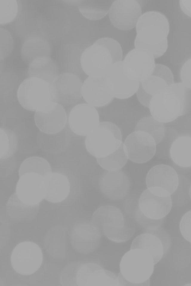White Bokeh Circle Abstract Pattern Iphone 8 Wallpaper