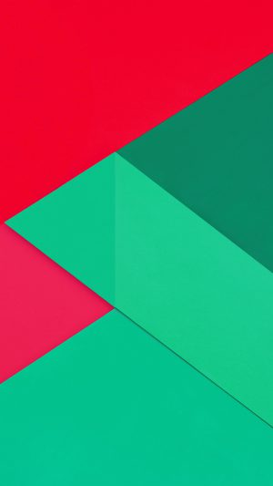 Android Marshmallow New Greener Red Pattern iPhone 8 wallpaper