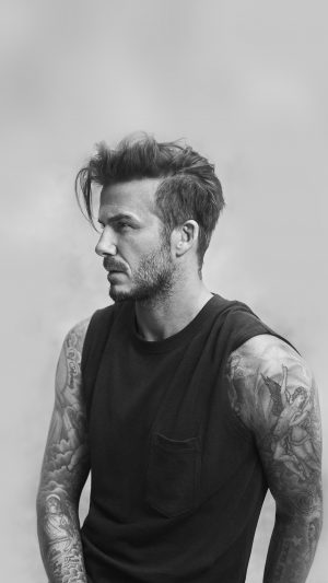 Beckham Handsome Bw Sports Good Lookin iPhone 8 wallpaper