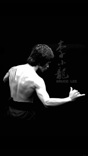 Bruce Lee Sports Actor Celebrity Dark iPhone 8 wallpaper