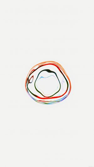 Bubble Apple Watch White Minimal Art iPhone 8 wallpaper