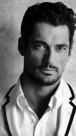 David Gandy Handsome Model Bw Dark iPhone 8 wallpaper