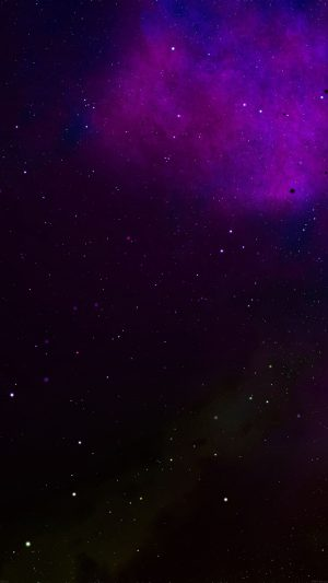 Frontier Galaxy Space Colorful Star Nebula iPhone 8 wallpaper