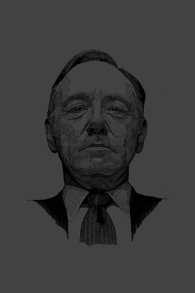 House Of Cards Kevin Spacey Actor iPhone wallpaper
