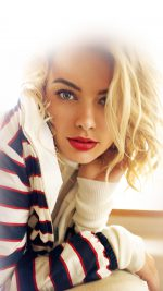 Margot Robbie Smile Celebrity Beauty iPhone 8 wallpaper