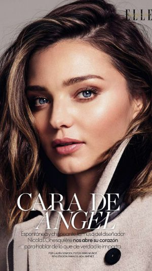 Miranda Kerr Magazine Face Girl Model iPhone 8 wallpaper