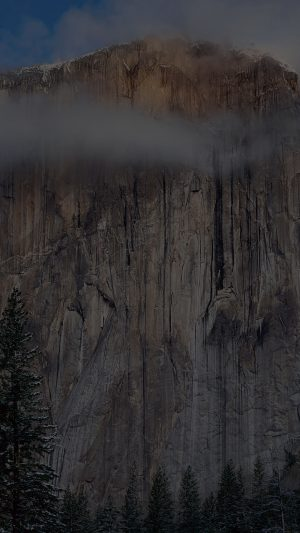 Os X Yosemite Dark Wallpaper Apple iPhone 8 wallpaper
