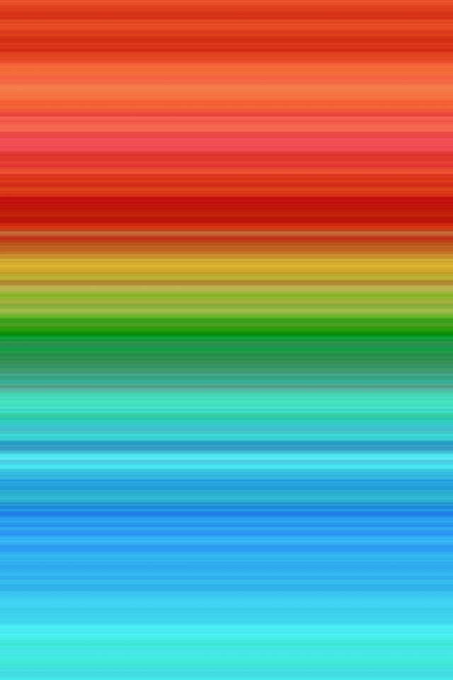 Rainbow Line Abstract Pattern iPhone wallpaper