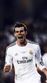 Real Bale Sports Face iPhone 8 wallpaper