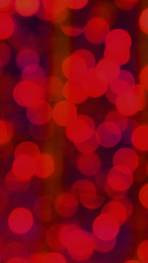 Red Bokeh Circle Abstract Pattern iPhone 8 wallpaper