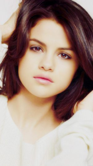 Selena Gomez Singer Artist Celebrity iPhone 8 wallpaper