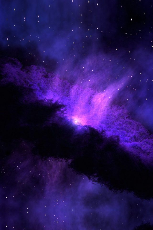Space Blue Nebula Star Awesome Iphone 8 Wallpaper