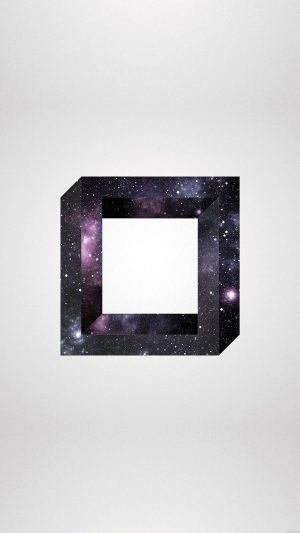 Square Space Art iPhone 8 wallpaper