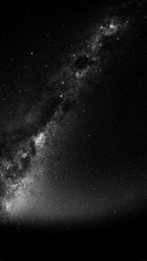 Summer Black Night Revisited Star Space Sky iPhone 8 wallpaper